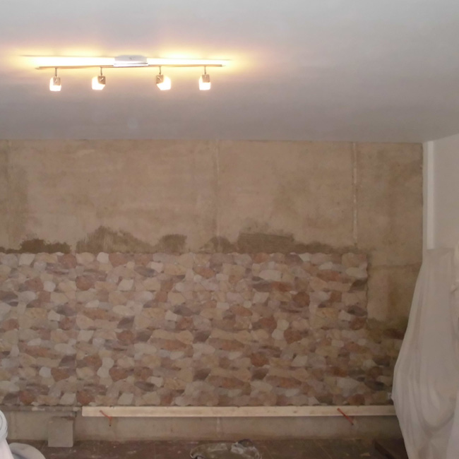 How do you do it? Tiled wall faux stone 3